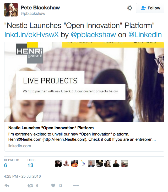 Nestlé-open-innovation-platform
