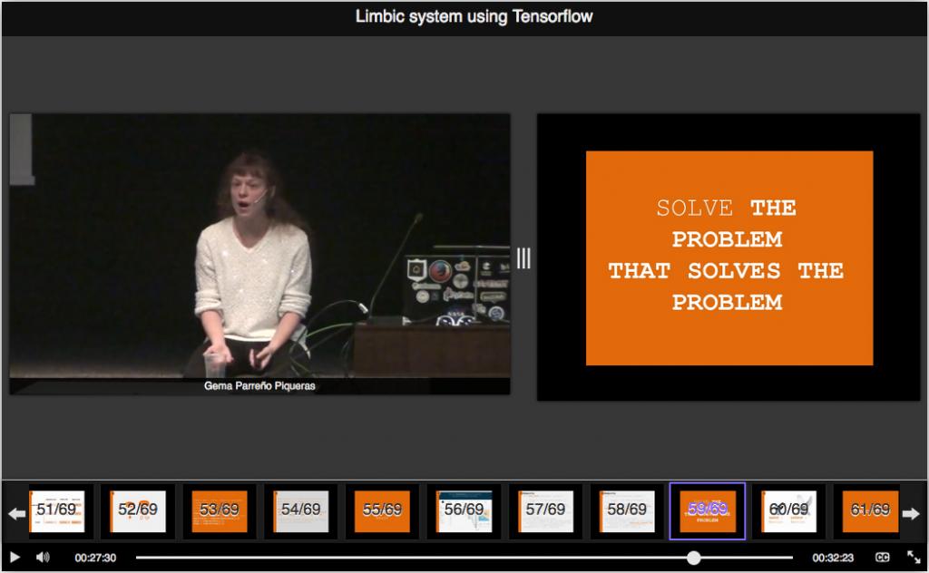 Limbic system using Tensorflow
